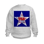 USA Safeguard Our Shores Kids Sweatshirt