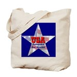 USA Safeguard Our Shores Tote Bag