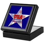 USA Safeguard Our Shores Keepsake Box