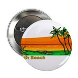 "South Beach, Florida 2.25"" Button (10 pack)"