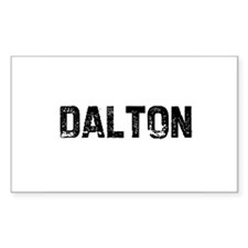 Dalton Rectangle Decal