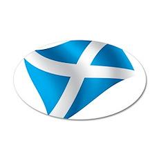 Scotland Flag Wall Decal
