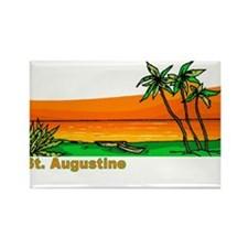 St. Augustine, Florida Rectangle Magnet
