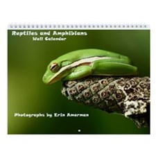Reptiles And Amphibians Wall Calendar