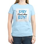 Baby Boy Proud Mom Women's Light T-Shirt