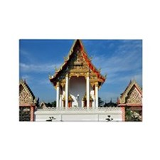 Wat Prang Luang Rectangle Magnet