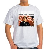 President Reagan Memorial Ash Grey T-Shirt