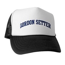 Gordon Setter (blue) Trucker Hat