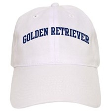 Golden Retriever (blue) Baseball Cap