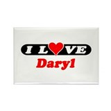 I Love Daryl Rectangle Magnet (10 pack)