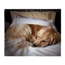 Golden Retriever puppy Throw Blanket