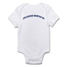 Entlebucher Mountain Dog (blu Infant Bodysuit