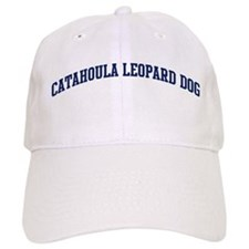 Catahoula Leopard Dog (blue) Baseball Cap