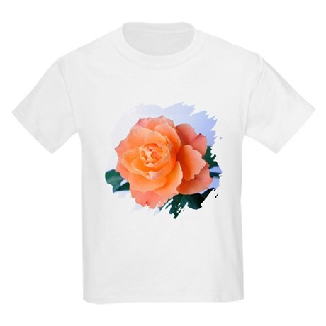 Orange Rose Kids Light T-Shirt