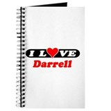 I Love Darrell Journal