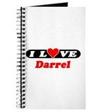 I Love Darrel Journal