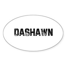 Dashawn Oval Decal