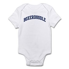 Boxerdoodle (blue) Infant Bodysuit