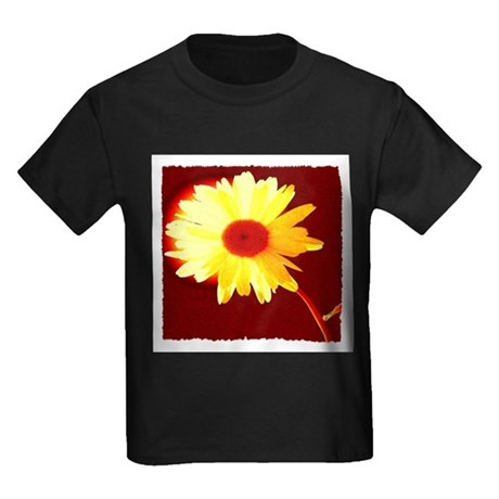 Hot Daisy Kids Dark T-Shirt