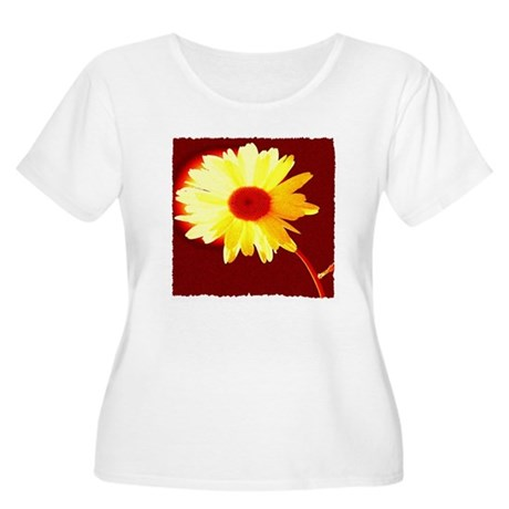 Hot Daisy Women's Plus Size Scoop Neck T-Shirt