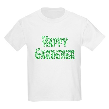 Happy Gardener Kids Light T-Shirt