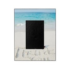 """Thank You"" writing on sand Picture Frame"