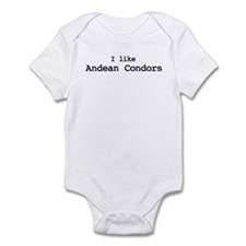 I like Andean Condors Infant Bodysuit