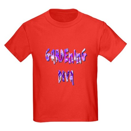 Gardening Diva Kids Dark T-Shirt