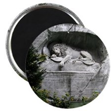 Lion of Lucerne Magnet
