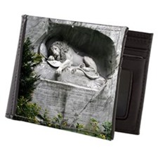 Lion of Lucerne Mens Wallet