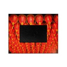 Red lanterns Picture Frame