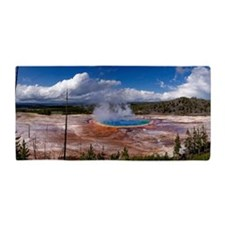 Grand prismatic spring, Yellowstone Beach Towel