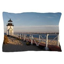 Brant point lighthouse Pillow Case