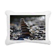 Stone tower Rectangular Canvas Pillow