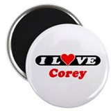 "I Love Corey 2.25"" Magnet (10 pack)"