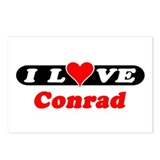 I Love Conrad Postcards (Package of 8)