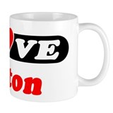 I Love Colton Small Mug