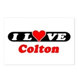 I Love Colton Postcards (Package of 8)