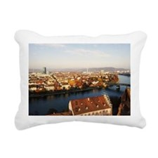 View over Basel Rectangular Canvas Pillow