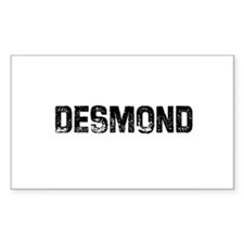 Desmond Rectangle Decal