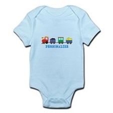 Personalized Kids Choo Choo Train Body Suit