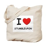I love stumbleupon Tote Bag