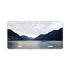 Lugano Aluminum License Plate