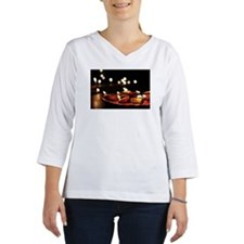 Diwali bokeh Women's Long Sleeve Shirt (3/4 Sleeve)