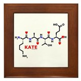 Kate molecularshirts.com Framed Tile