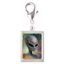 iPhone 4 Slider Case_Alien_P Silver Portrait Charm