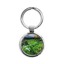 , Round Keychain