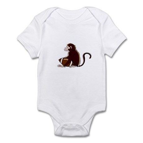 Football Monkey Infant Bodysuit