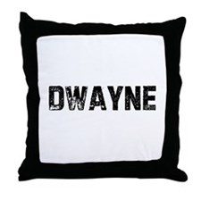 Dwayne Throw Pillow