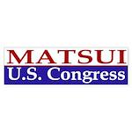 Matsui for Congress (bumper sticker)